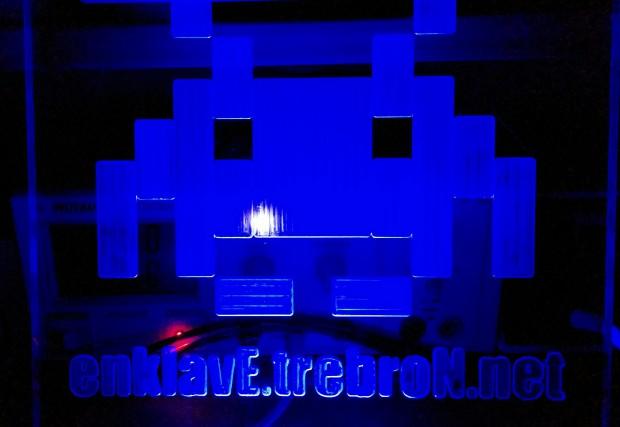 Logo der enklavE trebroN