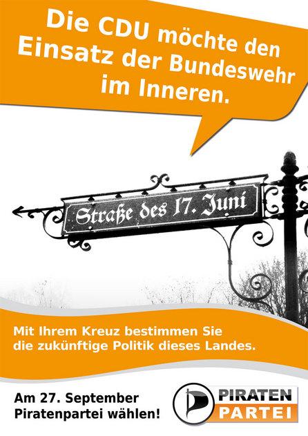 Bundeswehr im Innern