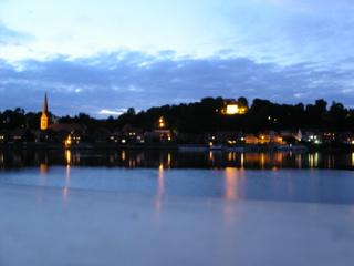 Lauenburg - Abend - Sicht